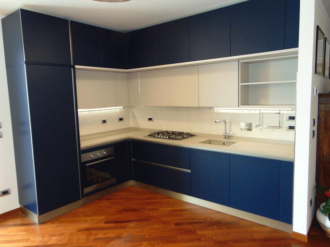 cucina 4 metri con angolo